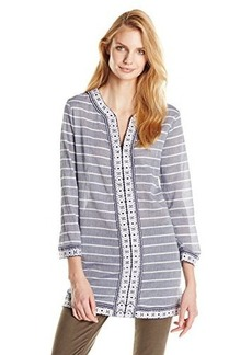 Joie Women's Samali Striped Coverup Tunic Dress