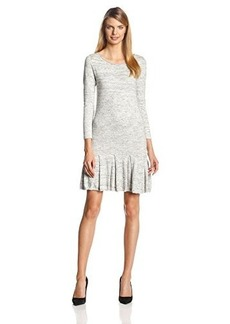 Joie Women's Tala Space-Dye Knit Drop-Waist Dress
