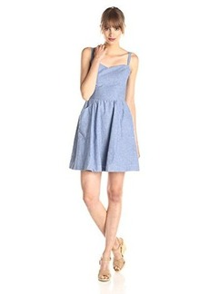 Joie Women's Yomi Dress, Light Wash Indigo, Medium