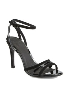 Joie 'Yvette' Suede & Patent Leather Sandal (Women)