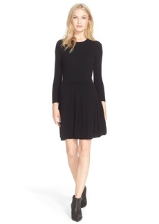 Joie 'Peronne' Knit Wool & Cashmere Fit & Flare Dress