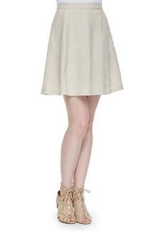Loudivine Structured A-Line Skirt   Loudivine Structured A-Line Skirt