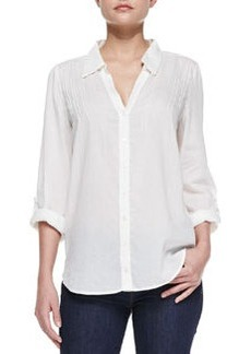Millicent Sheer Cotton-Voile Blouse   Millicent Sheer Cotton-Voile Blouse
