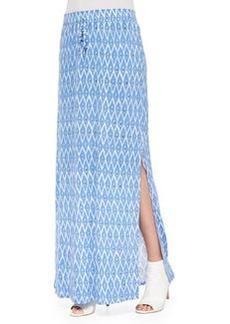 Molimo Printed Slub Maxi Skirt   Molimo Printed Slub Maxi Skirt