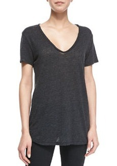 Naeva Heathered Slub Top   Naeva Heathered Slub Top