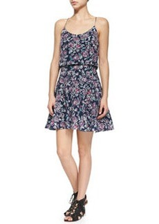 Nanon Floral-Print Sleeveless Dress   Nanon Floral-Print Sleeveless Dress