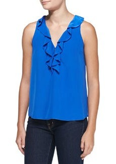 Rissa Ruffled Sleeveless Blouse   Rissa Ruffled Sleeveless Blouse