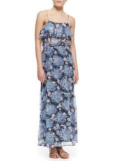 Rominette Floral-Print Silk Maxi Dress   Rominette Floral-Print Silk Maxi Dress