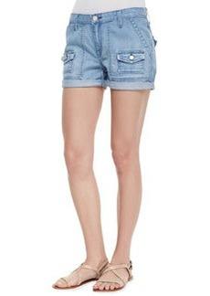 So Real Cuffed Denim Shorts, Hydra   So Real Cuffed Denim Shorts, Hydra