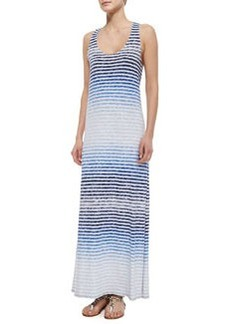 Soft Joie Ager Reverse-Printed Striped Maxi Dress