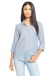 Soft Joie 'Anabella' Check Cotton Shirt