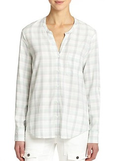 Soft Joie Anabella Plaid Top