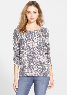 Soft Joie 'Annora' Animal Print French Terry Top