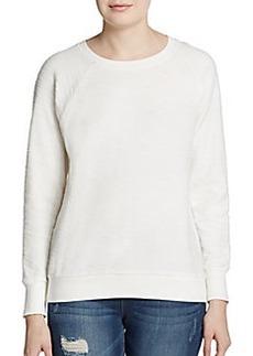 Soft Joie Annora Textured Cotton Sweatshirt