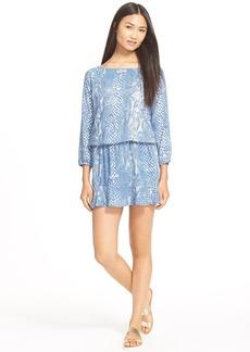 Soft Joie 'Arryn B' Snake Print Dress