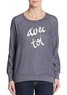 Soft Joie Avec Toi Graphic Sweatshirt