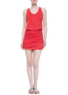 Soft Joie Bond Ruched-Skirt Blouson Dress