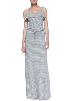 Soft Joie Boxer Striped-Jersey Maxi Dress