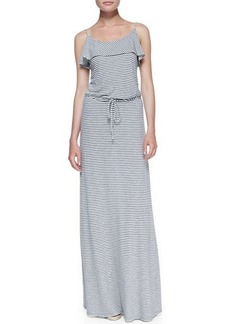 Soft Joie Boxer Striped-Jersey Maxi Dress