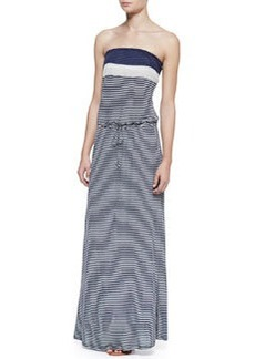 Soft Joie Christabel Striped-Jersey Strapless Maxi Dress