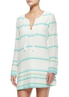 Soft Joie Dacy Long-Sleeve Coverup Tunic Dress
