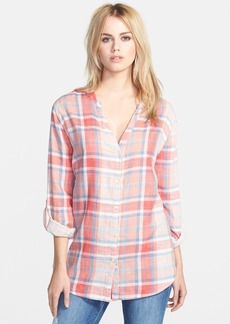 Soft Joie 'Dane' Plaid Henley Shirt