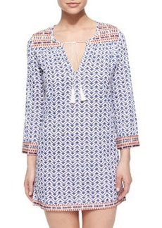 Soft Joie Daria Geo-Print Coverup Tunic Dress