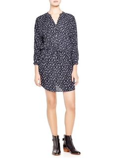 Soft Joie Deangela Ikat Print Shirt Dress