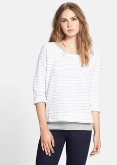 Soft Joie 'Emma' Yarn Dyed Stripe Top