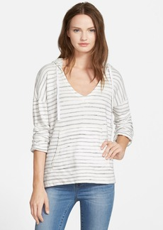 Soft Joie 'Evita' Stripe Hoodie Sweatshirt