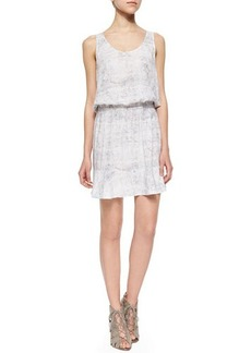 Soft Joie Farrell Printed Blouson Sleeveless Dress