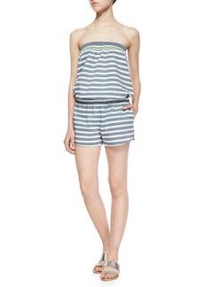 Soft Joie Gidget Striped Strapless Jumpsuit
