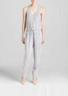 Soft Joie Jumpsuit - Biltmore Diamond Ikat Print
