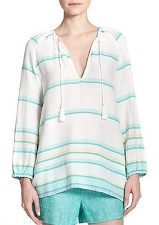 Soft Joie Keli Striped Cotton Tunic