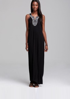 Soft Joie Maxi Dress - Ryken Embroidered