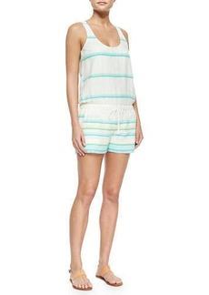 Soft Joie Miri Tank-Style Striped Jumpsuit
