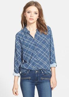 Soft Joie 'Onyx B' Plaid Shirt