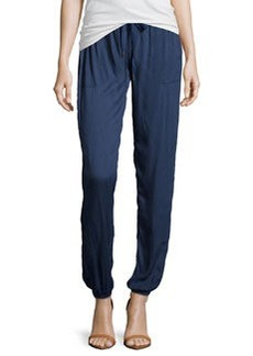 Soft Joie Slouchy Drawstring Pants, Deep Indigo