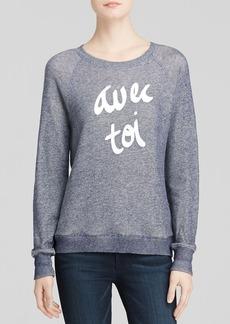 Soft Joie Sweatshirt - Annora Avec Toi Heathered