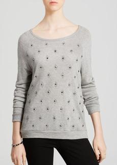 Soft Joie Sweatshirt - Clarisse Studded