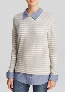 Soft Joie Sweatshirt - Diadem Striped Shirttail