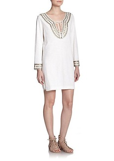 Soft Joie Talon Beaded Tunic Dress