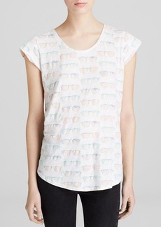 Soft Joie Tee - Dillon Sunglasses Print
