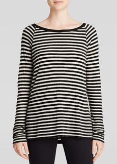 Soft Joie Top - Ezrela Velvet Stripe