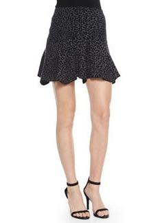 Wemberley Leopard-Print Knit Skirt   Wemberley Leopard-Print Knit Skirt