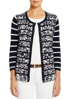 3/4 Sleeve Cardigan Sweater