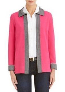 3/4 Sleeve Cardigan Sweater (Plus)