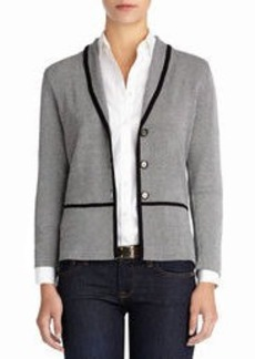 3/4 Sleeve Cardigan with Shawl Collar (Petite)