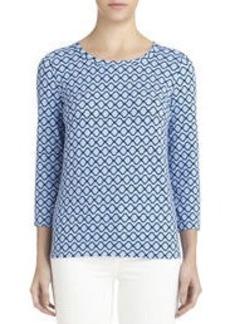 3/4 Sleeve Pullover (Petite)