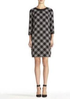 3/4 Sleeve Shirt Dress
